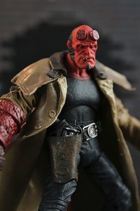 Фігурка Хеллбой - Hellboy, The Golden Army, Mezco HB Series 2 - фото