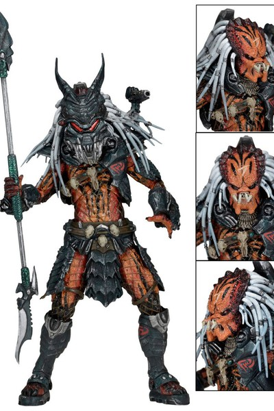Predator Leader of the Clan - Predator Deluxe Clan Leader, NECA - фото