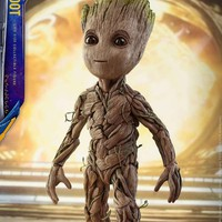 "ФИГУРКА МАЛЮК Грута ""ВАРТИ ГАЛАКТИКИ 2"", 29 СМ - GROOT, GUARDIANS OF THE GALAXY - фото"